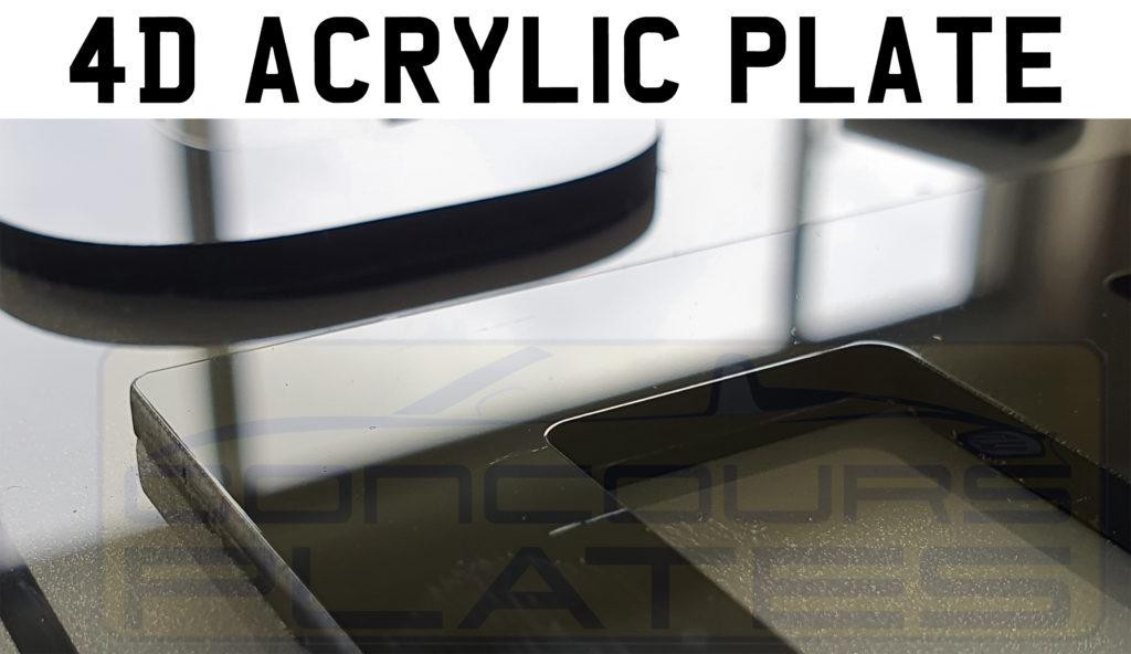 4D Acrylic Plate Example