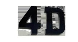 4D Number Plates