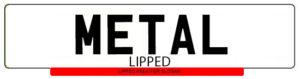 Metal Lipped Plates