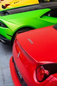 Ferrari car number plates