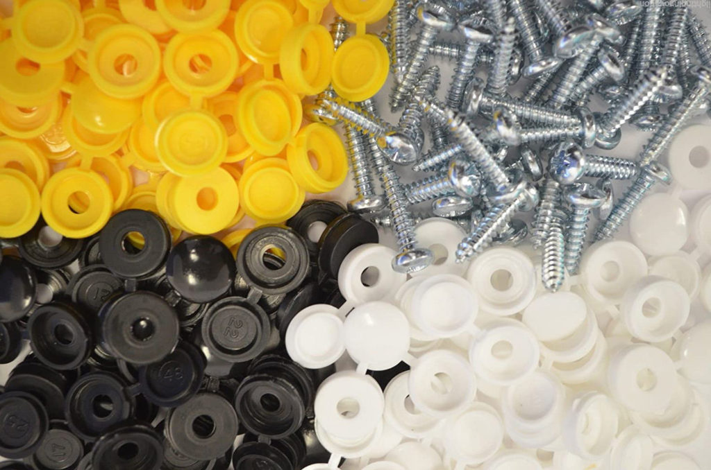 number plate fixing kits