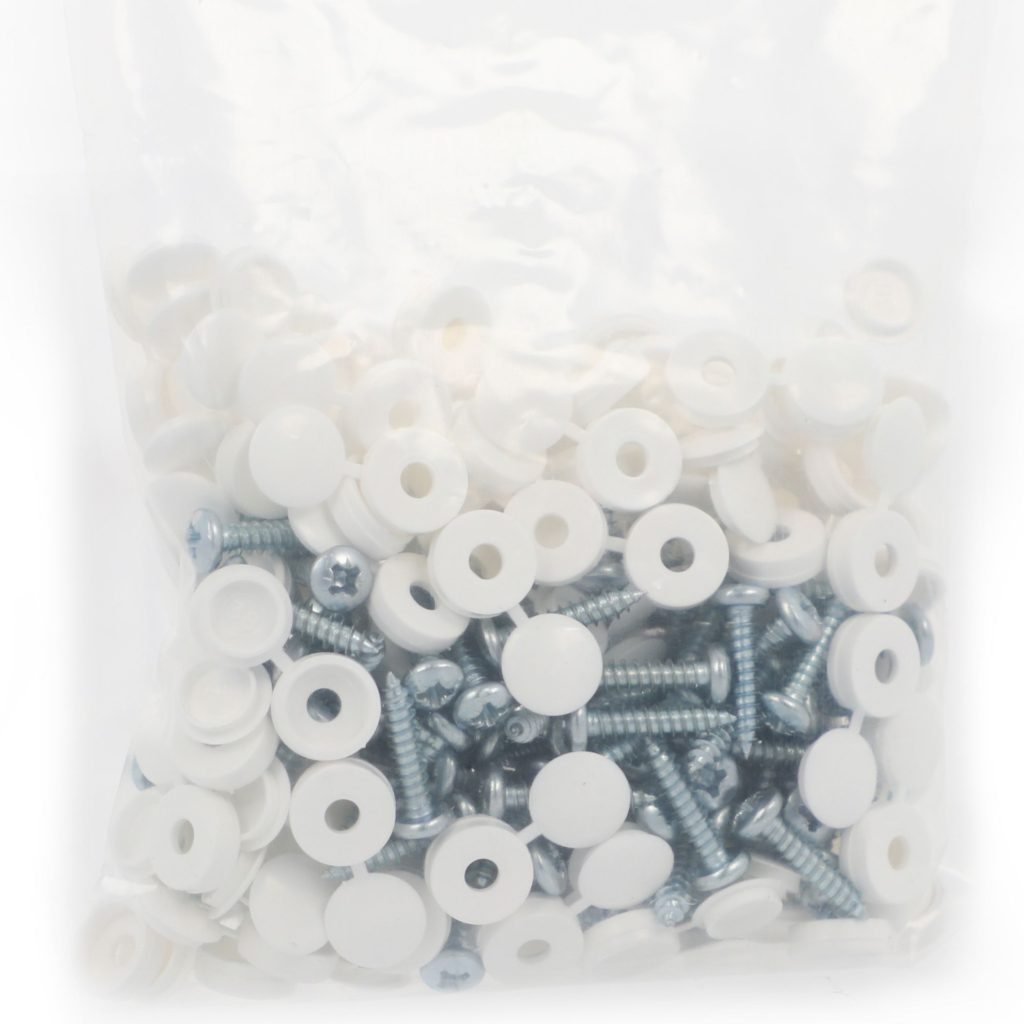 white number plate screws wholesale