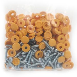 yellow number plate screws wholesale