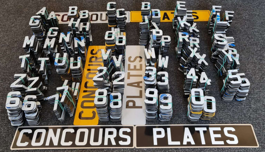 4D Acrylic Number Plate Letters (1)