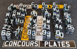 Wholesale 4D Acrylic Number Plate Letters