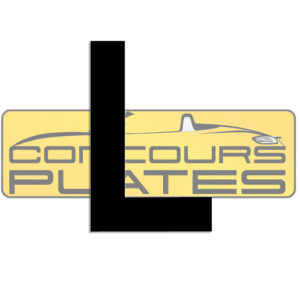 Letter L 4D Acrylic Number Plate Letters Digits